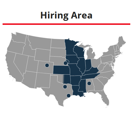 Core Carrier Hiring Map Image